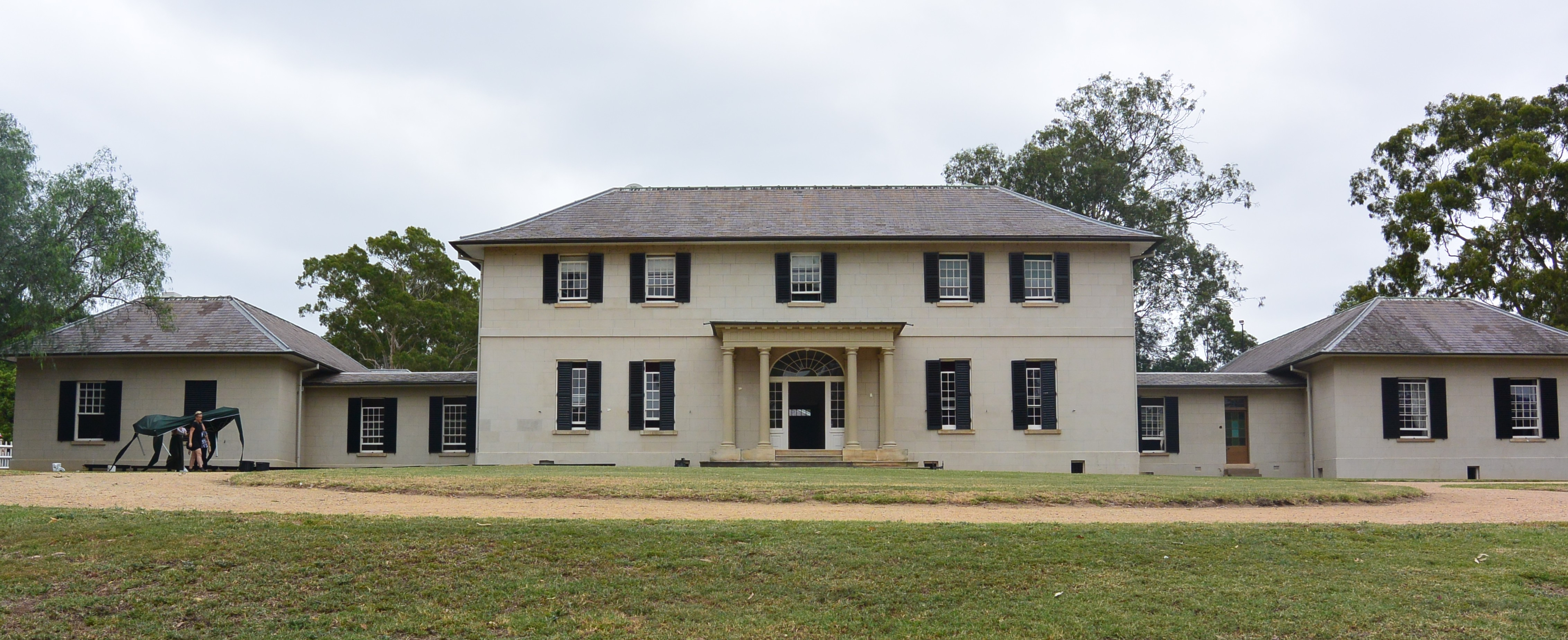 The Country's First McMansion