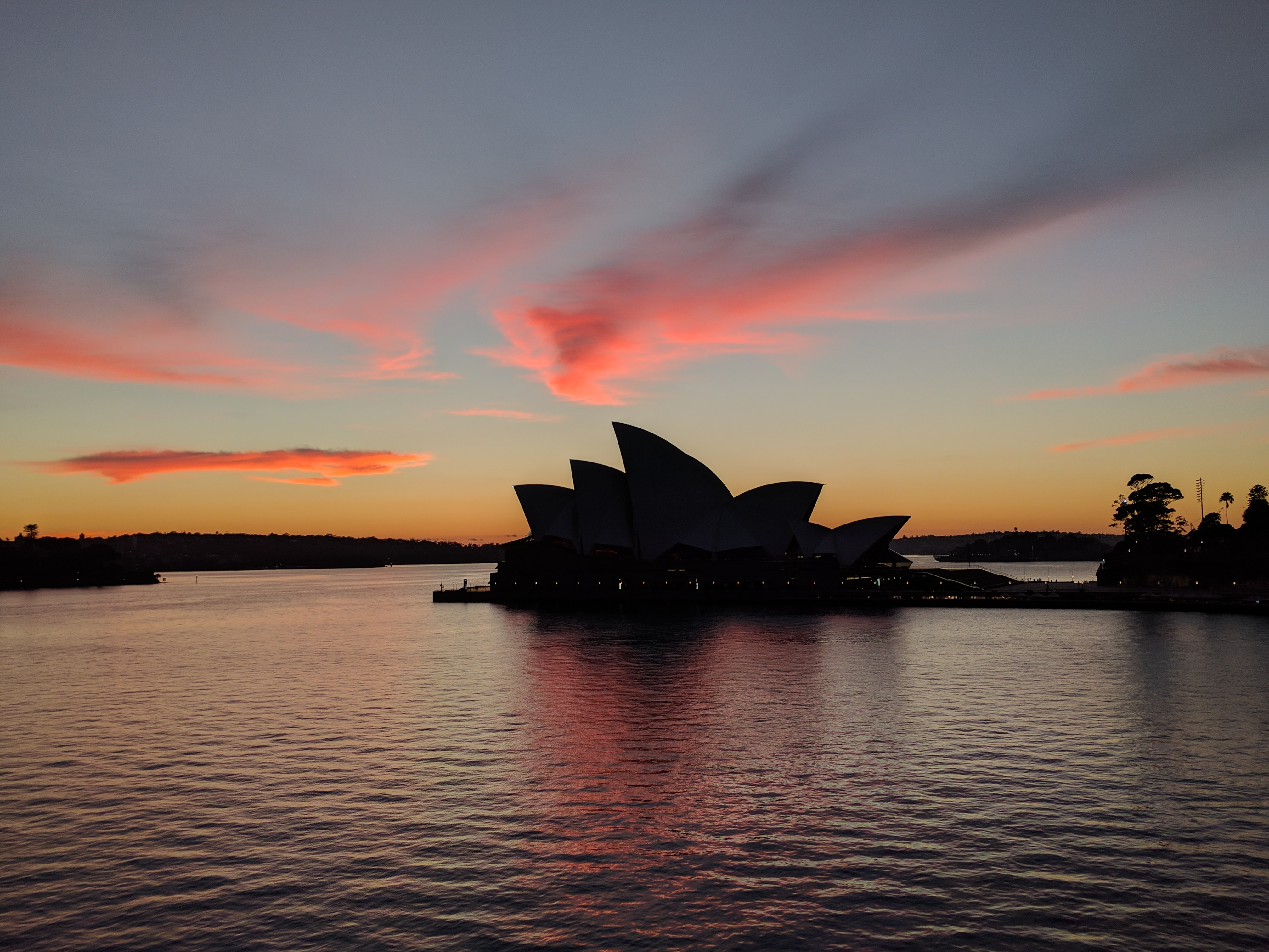 Circular Quay, Sydney, views at dawn