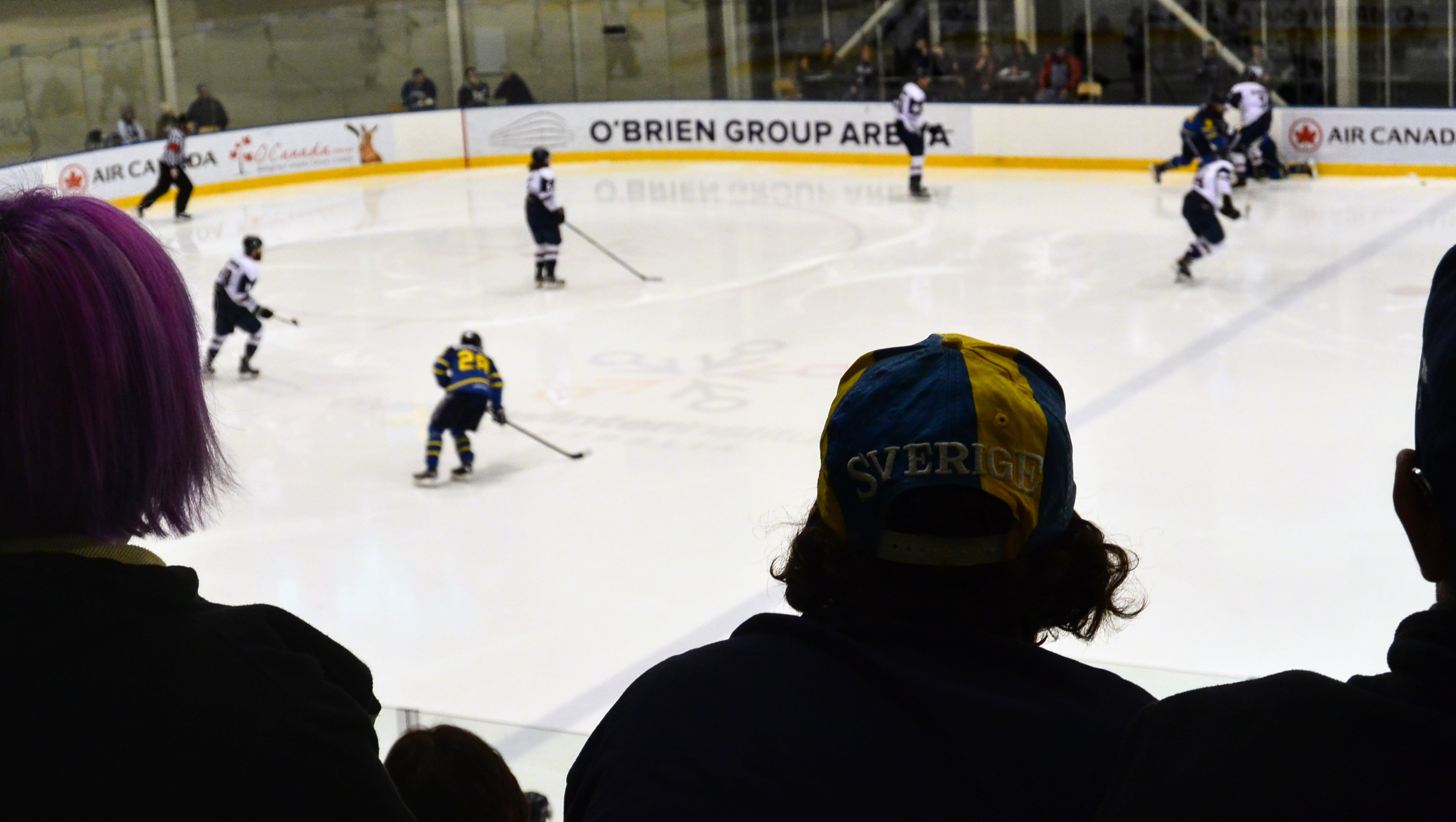 Swedish Day at the Ice Hockey in Melbourne