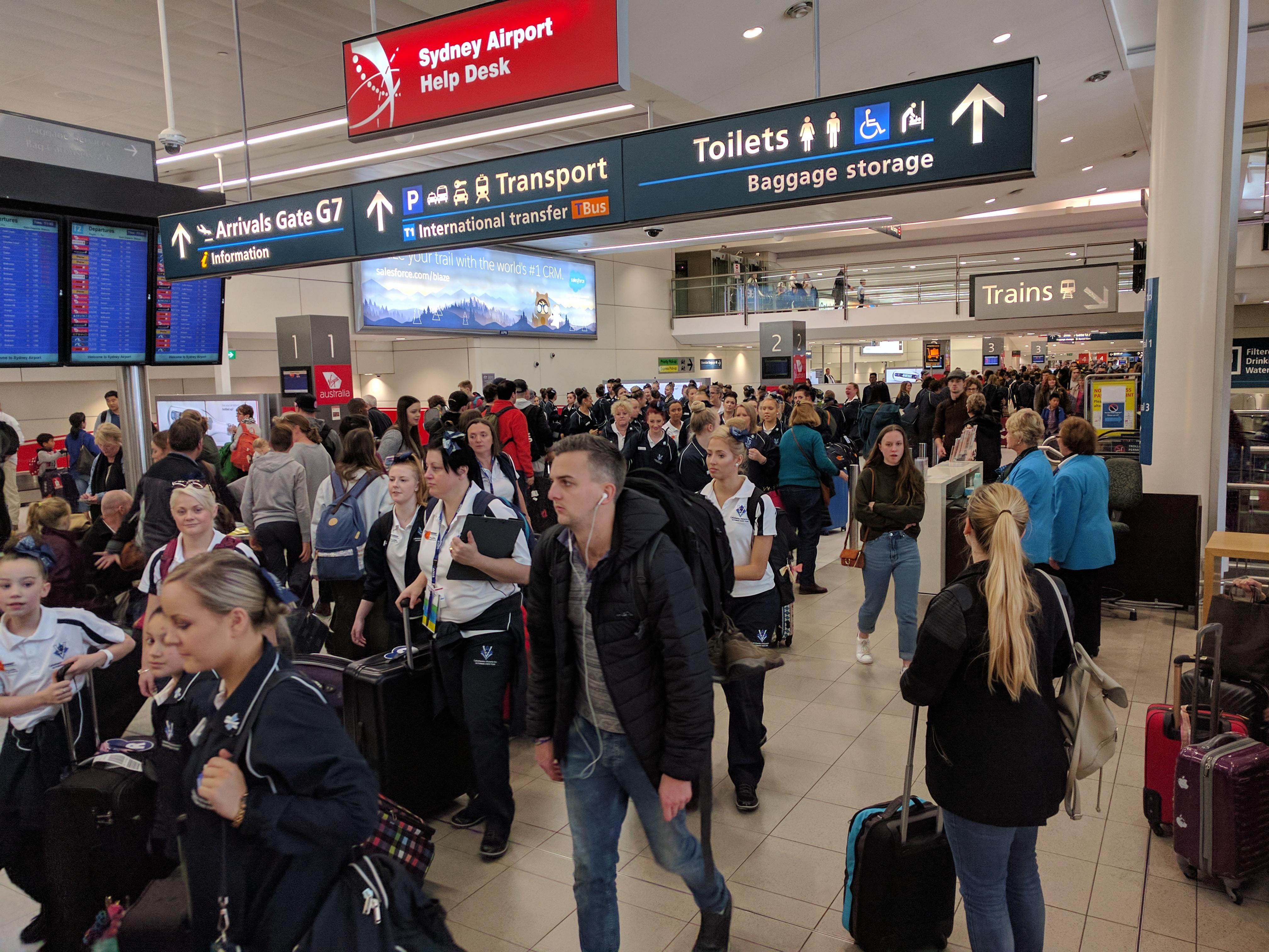 Getting around Sydney Airport